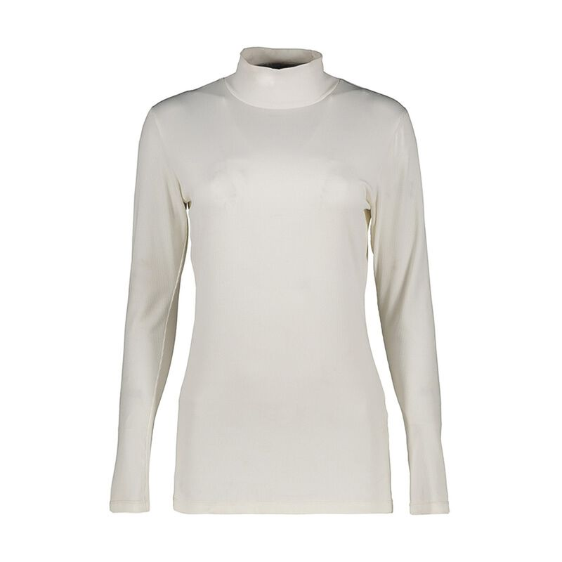 Poetry Viscara Ribbed Polo Neck