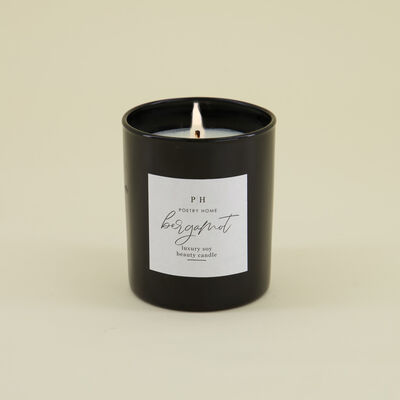 Bergamot Soy Beauty Candle