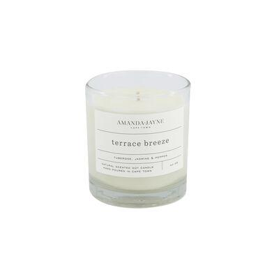 Amanda Jayne Terrace Breeze Candle in Glass