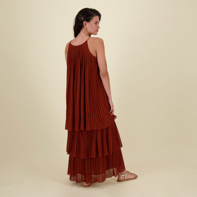 Verena Pleated Dress