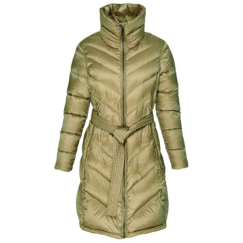 Azalea Down Coat -  rust