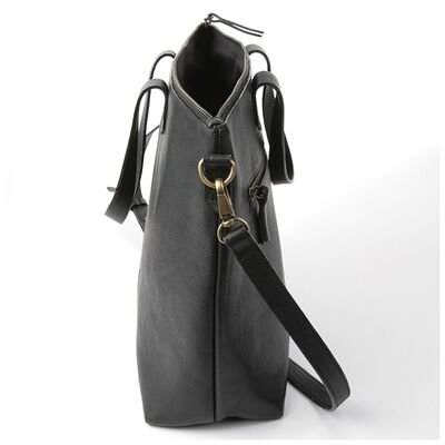 Tatum Leather Shopper Bag