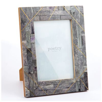 Grey Abstract Frame