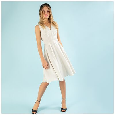 Langley Fit & Flare Dress
