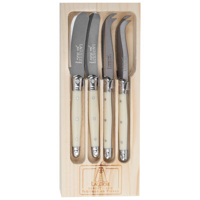 Laguiole Cheese Knife and Spreader Set