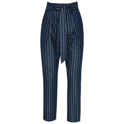 Aggie Poplin Stripe Pant