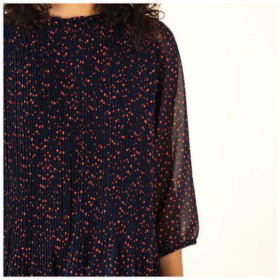 Zaira Pleated Dress
