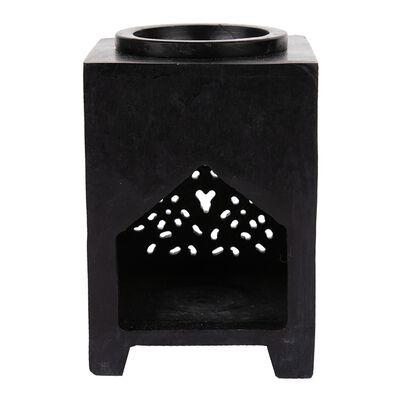 Black Soapstone Oil Burner
