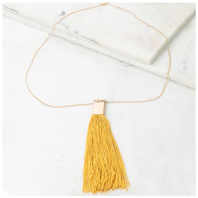 Tassle Pendant Necklace