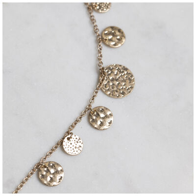 Scattered Disc Strand Necklace