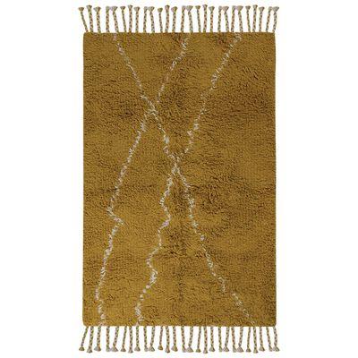 Ochre & Milk Wool Rug