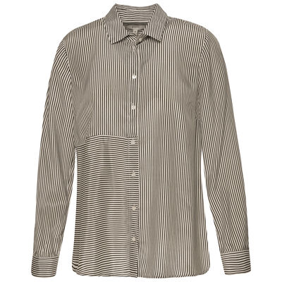 Lily Stripe Button Through Shirt