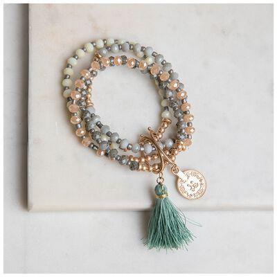 4-Piece Beaded Bracelet Set
