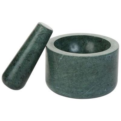 Green Marble Pestle & Mortar Set