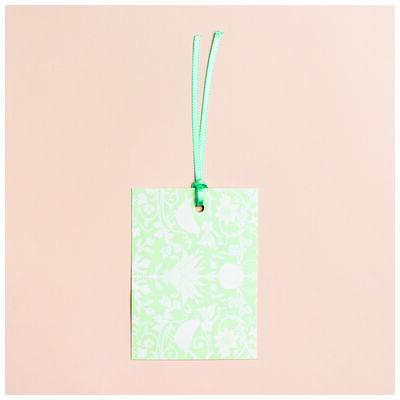 Love Letters Mint Chintz Tag