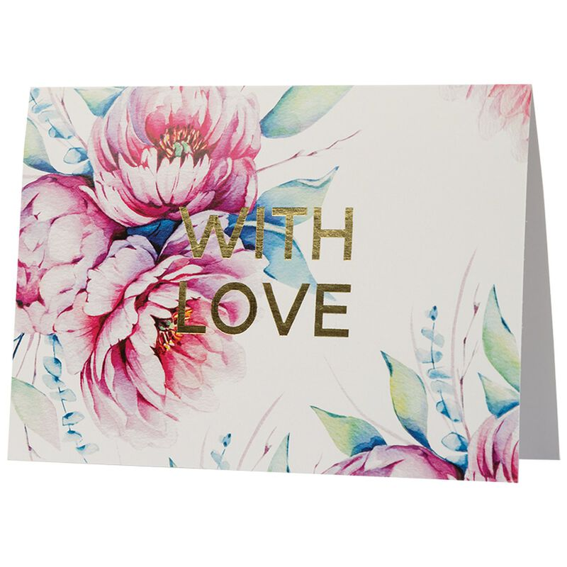 With Love Card -  assorted