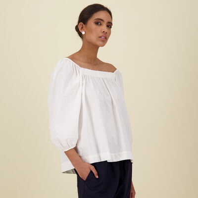 Corinne Cotton Top