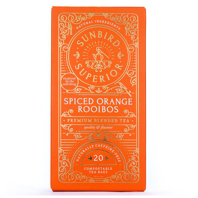 Spiced Orange Rooibos Tea