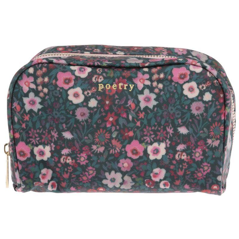 Esme Cosmetic Bag -  pink-green
