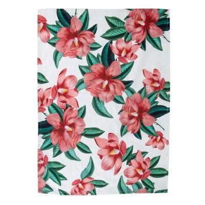 Dusty Pink Blossom Tea Towel