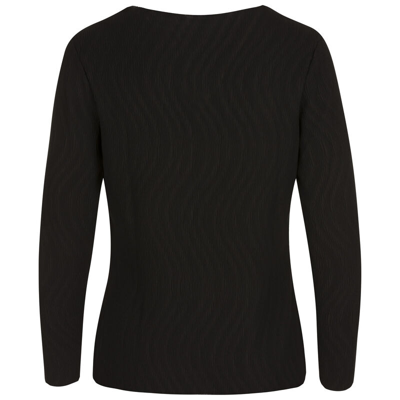 Galia Knit Top -  black