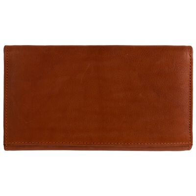Sonia Structured Leather Wallet