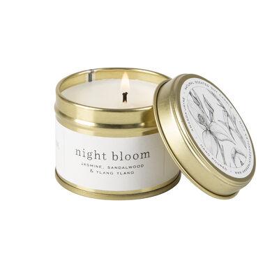 Amanda Jayne Night Bloom Candle in Gold Tin