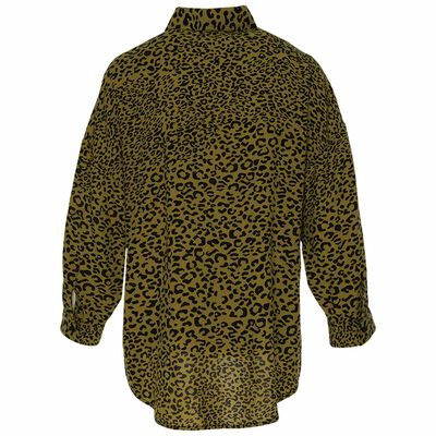 Virgina Animal Print Blouse
