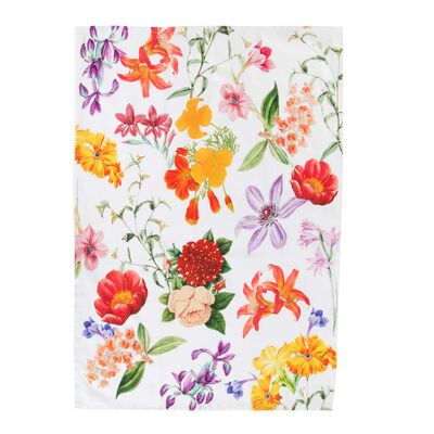 Floral Bloom Tea Towel