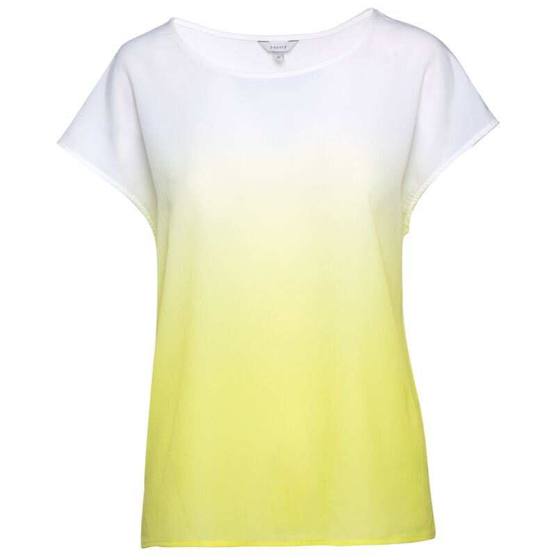 Daria Ombre T-Shirt -  yellow