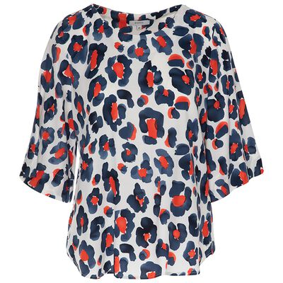 Tinsley Leopard Print Blouse