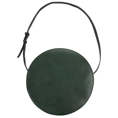 Brook Round Leather Bag