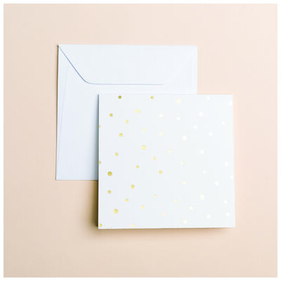 Gold Dot Card