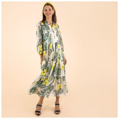 Poetry Miyo Tropical Dress