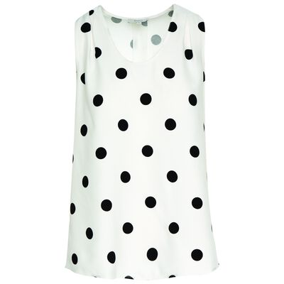 Meredith Spot Blouse