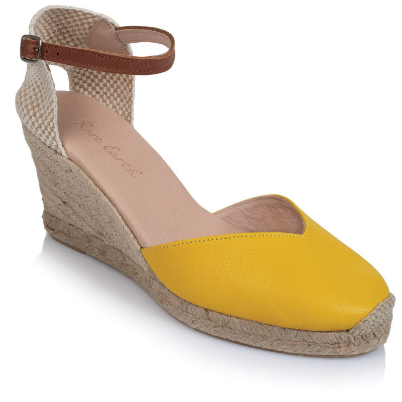 Rare Earth Valentina Wedge -  yellow