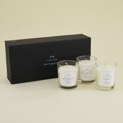 Beauty Soy Candle Gift Set
