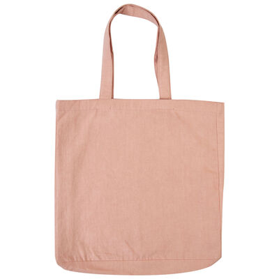 Blush Canvas Tote Bag