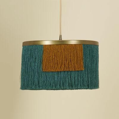 Tiered Tassel Lampshade