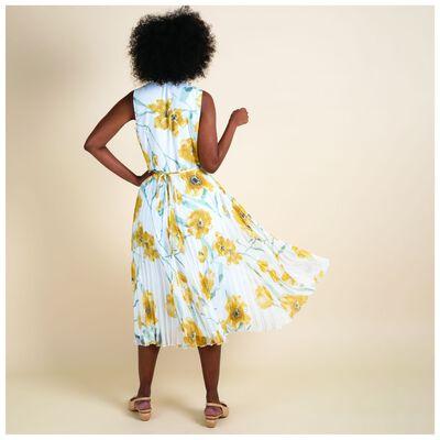 Agnus Floral Wrap Dress