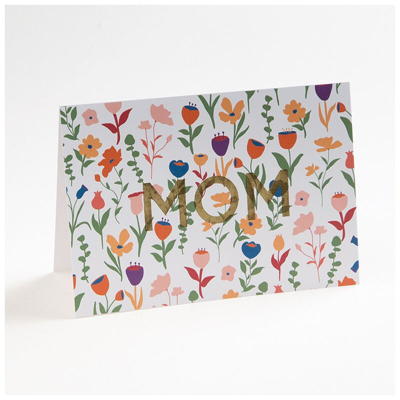 Love Letters White Floral Mom Card -  assorted