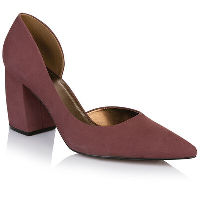 Gianna Curved Block Heel