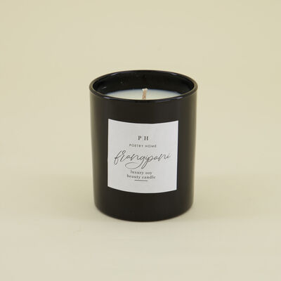 Frangipani Soy Beauty Candle