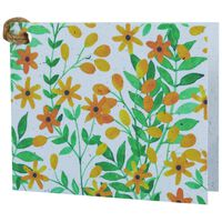 Growing Paper Sunshine Floral Tag -  assorted