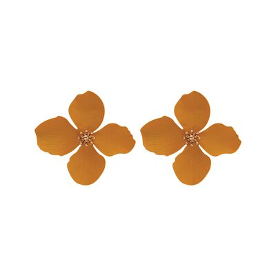3D Flower Stud Earrings