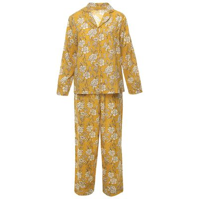 Ashley Yellow Pyjama Set