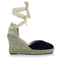 Rare Earth Alejandra Wedge -  navy-tan