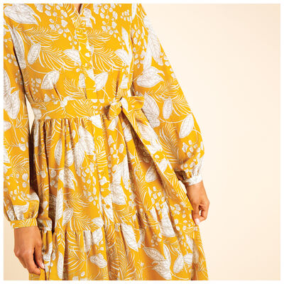 Dafnee Tiered Maxi Dress