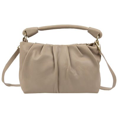 Luna Draped Leather Bag