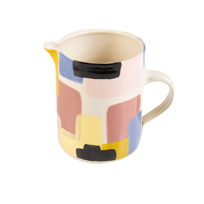 Wonki Ware Sunbaked Abstract Jug